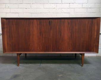 Danish Henry Hansen Brande Mobelindustri Rosewood Mid-Century Buffet Credenza