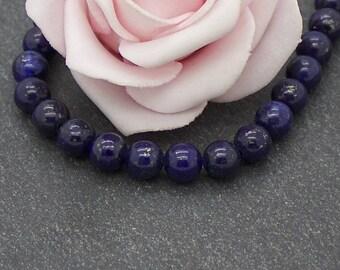x 10 lapis lazuli 6 mm PG81 stone round beads