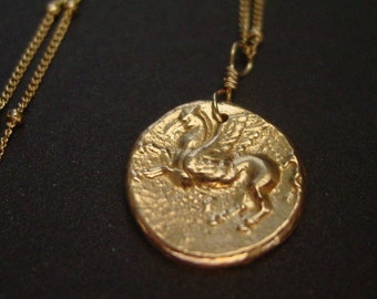 Pegasus (Small) - Necklace