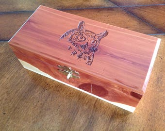 Owl Head Box