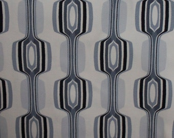 Retro Geometric Design Chris Stone Fabric