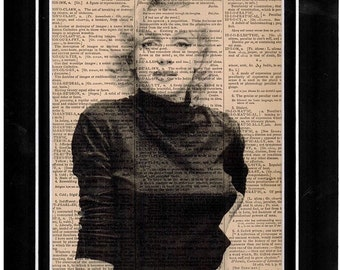 95 Mariyln Monroe Handmade Dictionary Art