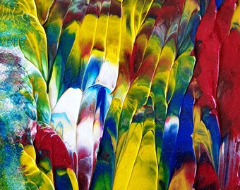 Texture in Nature Abstract Painting
