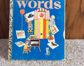 Words Little Golden Activity Book