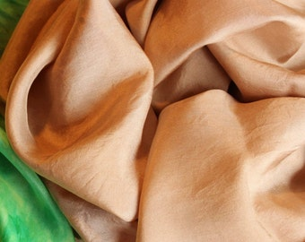 Beach Sand Playsilk ~Hand Dyed ~ Tan ~ Waldorf Inspired!