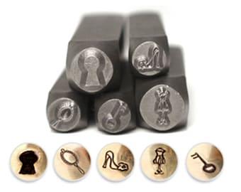 """Impressart Design Stamp Pack """"Shabby Chic"""" - 5pcs (PN6998)"""