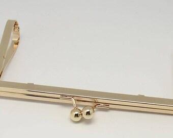 1 PC Retro Gold Purse Frame /Handle Purse Frame 17.5 X 8.5cm ( 6.8 X 3.3 inch) E118
