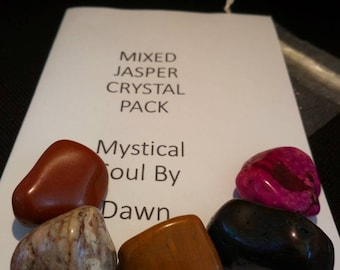 Mixed Jasper crystals