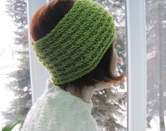 Womens headband womens gift girlfriend gift for her boho headband womens headbands knitted headband winter accessory knit turban Teen gift