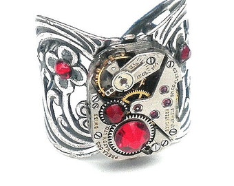 SALE, Steampunk Ring
