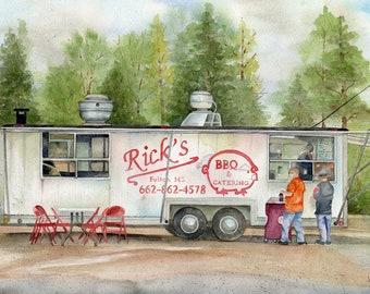 Rick's BBQ