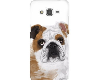 English Bulldog Case, Cell Phone Case, Cell Phone Accessories, Dog Lover Gifts, Bulldog Lover Gifts, British Bulldog Accessories, Dog Gifts