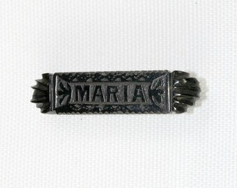 "Vintage Jet Brooch ""Maria"""