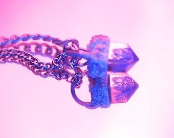 crystal specimen ii. blue insecta rhopalocera