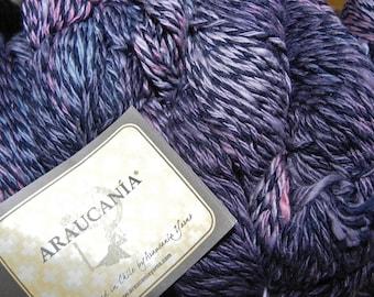 Araucania 100% Cotton Yarn 230Yds 100gr Elqui Multy Color 1106, Red, Gray & Black
