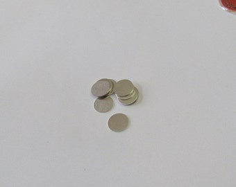 3/8 Aluminum disc - 24 gauge - hand stamping blanks 10 or more