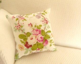 miniature dollhouse pillow