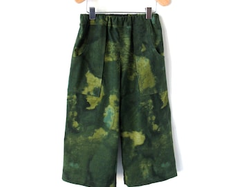 Toddler Pants Size 2T in Mossy Green Cotton