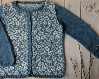 SOLD. Hand-knit jacket Maiden