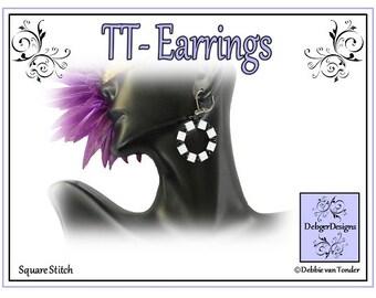 Beading Pattern, Tutorial, Tila And Twin Earrings - TT (TILA and TWIN)