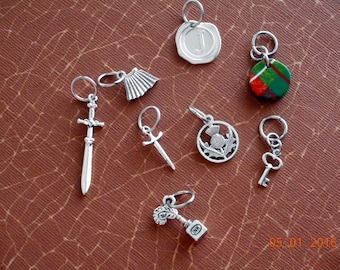 Outlander inspired Jaime's Collection II - Knitting Stitch Markers