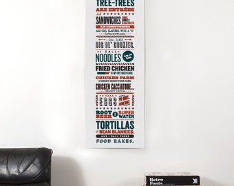 "Parks and Recreation Tom Haverford Apps and Zerts 12"" x 36"" Poster"