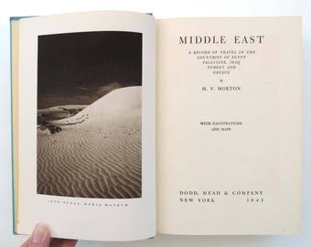 Middle East by H V Morton