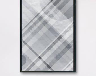 Optical Illusion Modern Art, Optical circles lines, Illusion Art Print, Abstract Wall Artwork Home Decor, Abstract Art, Gift Idea Line Print
