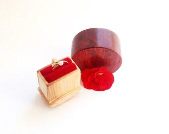 Ring Box Wedding Ring Box for Wedding Engagement Ring Box Engagement  Box Wooden Ring Box Wood Ring Box Engagement gift Box Proposal Ring
