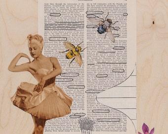 Mixed Media Art Print - Indulgence