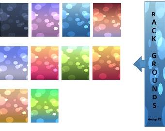 Background Clip Art - Clipart for Teachers - Instant Download - Digital Graphics - Clip Art Graphics - Scrapbook - Digital Download
