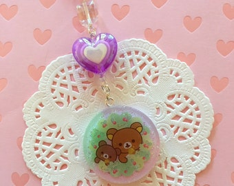 Forest Bears Resin Charm