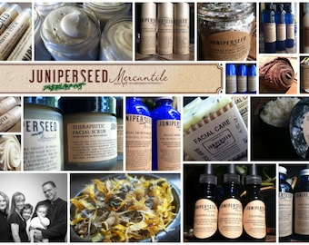 Surprise Package -  Mystery Box - A Gift For Yourself - Deeply Discounted Skin Care From Juniperseed Mercantile - #Favoritecustomerperks