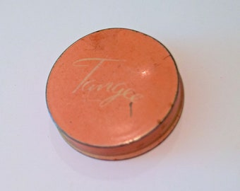 Tangee Theatrical Red Rouge vintage tin (#22)