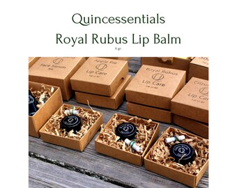 Royal Rubus Lip Care - 100% natural lip balm by Quincessentials
