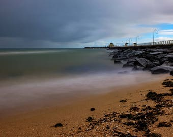 St Kilda pier, Melbourne, Beach, St Kilda, Australia, Long exposure, Fine Art Photography
