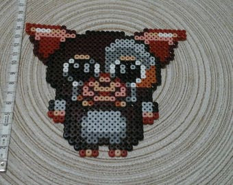 Amy in pixel art of the movie Gremlins.