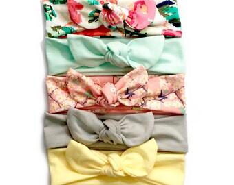 Baby Girl Headbands - Choose 1 Knot Headband - Baby Accessories - Baby Turban Headband - Baby Toddler Adult Knot Headband - Baby Headbands