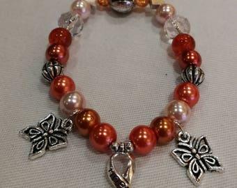 Multiple Sclerosis (M.S.) Awareness Bracelet