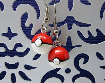 Choose Your Own Pokemon Pokeball Earrings