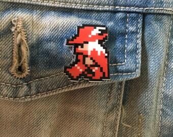 red mage - final fantasy pin