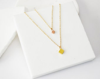 Dainty Gold Necklace, Layering Necklace, Gold Layering Necklace, Simple Necklace, Minimal Necklace, 14k Gold Filled, Necklace Set