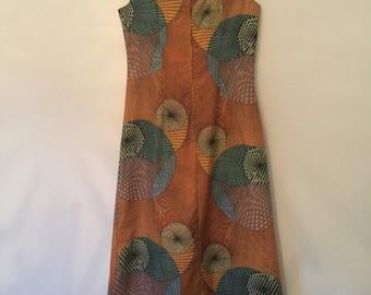 One off retro maxi dress
