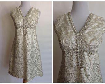 1950s Wedding Dress | 1950s Ivory Dress | 1950s White Dress | 1950s Wiggle Dress | Vintage 1950s wedding dress | vintage 50s small
