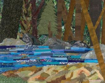 Salmon River (Art Print)