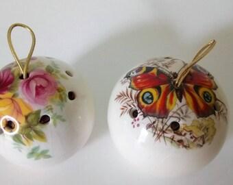Set Of 2 Pot Pourri Pomander By Lownds Pateman Pomander Balls Made in UK