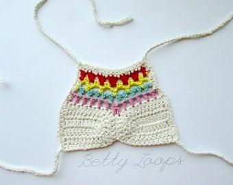 Arcoiris Bikini Top