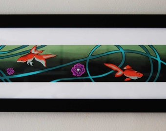 Sweet Goldfish Paradise Fine Art Print