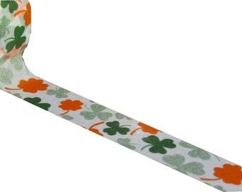 Clover Washi Tape - Green Orange Masking tape