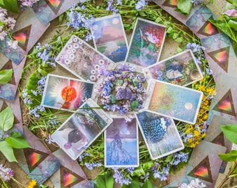 Universal Mind Oracle: Deluxe | PREORDER, Inspiration Cards, Oracle Cards, Tarot Cards, Tarot Card Deck, Card Deck, Tarot Reading, Oracle